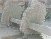 نائب محافظ القاهرة يتابع هدم بناء مخالف وأعمال توسعة شارع جسر السويس