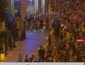 احتجاجات فى برشلونة على حكم بالسجن ضد قادة الانفصال