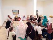 متحف الرى بالقناطر الخيرية يستقبل سيدات وأطفال متحدى الأمية.. صور