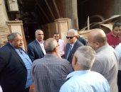 رئيس القابضة لمياه الشرب يفتتح أول مشروع لتأمين أغطية بالوعات الصرف
