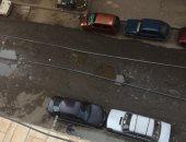قارئ يشكو تراكم مياه الصرف الصحى بشارع منشية التحرير بعين شمس