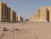صور.. الانتهاء من إنشاء 25 عمارة سكنية بالإسكان الاجتماعى بالشلاتين