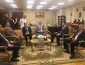 صور.. وفد حقوق الإنسان بالبرلمان يبدأ زيارته للأقسام الشرطية بالإسكندرية