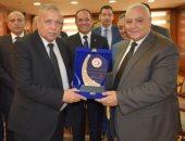 صور.. رئيس النيابة الإدارية يستقبل رئيس الهيئة الوطنية للانتخابات