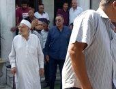 الخطيب وحسن حمدى يشيعان جنازة حسن مسعود مدير فرع أهلى مدينة نصر.. صور
