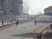 صور.. مقتل اثنين فى مظاهرات عنيفة بغينيا احتجاجا على تغيير الدستور