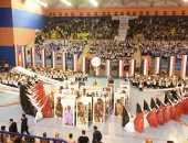 صور.. محافظ الشرقية يشارك فى احتفالات الذكرى الـ46 لانتصارات أكتوبر المجيدة