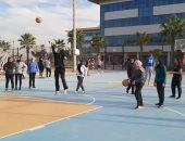 انطلاق النشاط الرياضى الداخلى فى الجامعات