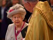 ملكة بريطانيا إليزابيث تحضر حفلا للاحتفال بمرور 750 عاما على دير وستمنستر