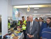 """صور.. جامعة الإسكندرية تستضيف معرض """"دكان الفرحة"""" ضمن مبادرة صندوق تحيا مصر"""
