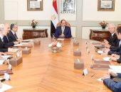 السيسى لرئيس تويوتا: مصر مؤهلة لتصبح محورا للصناعات والمنتجات اليابانية