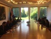 وزير الخارجية يبحث مع رئيسة كرواتيا تطوير التعاون فى العديد من المجالات