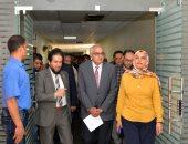 صور.. رئيس جامعة المنصورة يتفقد أعمال تطوير الوحدات والأقسام بمستشفى الأطفال