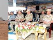 وزير الدفاع:القوات المسلحة قادرة على تأمين الحدود والدفاع عن الأمن القومى