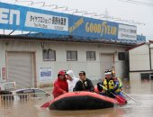 """كارثة اليابان تتفاقم.. قتلى ومفقودون فى إعصار هاجيبيس """"المدمر"""""""