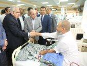 """محافظ كفرالشيخ ورئيس """"التأمين الصحى"""" يفتتحان عدد من المنشأت الطبية"""