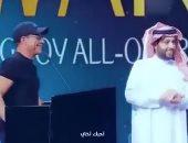 """فان دام لمحمد رمضان: """"بحبك يا أخى"""".. وتركى آل الشيخ :""""دى كوسة"""".. فيديو"""