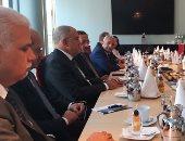رئيس اتحاد الصناعات يناقش مع نظيره الألمانى المشاركة فى معرض هانوفر
