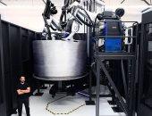 تفاصيل تدريب الروبوتات العملاقة على بناء صواريخ الفضاء المطبوعة 3D