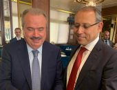 سفير مصر ببيروت يجتمع مع لجنة الشؤون الخارجية فى البرلمان اللبنانى