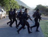 مقتل 13 شرطيا فى كمين لمسلحين بالمكسيك