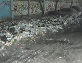 شكوى من تراكم القمامة بشارع عزت باشا فى المطرية