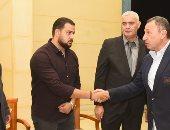 مجلس الأهلى يقدم واجب العزاء فى مدير فرع مدينة نصر