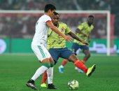 """الجزائر ضد كولومبيا.. الخضر يتقدمون بثنائية فى الشوط الأول """"فيديو"""""""