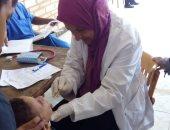 """صور.. """"صحة البحر الأحمر"""": الكشف على 118 حالة فى قافلة طبية بالزعفرانة"""