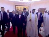 الشيخ محمد بن زايد وبوتين يبحثان تطورات الوضع فى المنطقة وتعزيز العلاقات