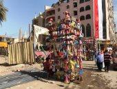 انتعاش بيع الطرابيش فى احتفالات مولد السيد البدوى بالغربية.. صور