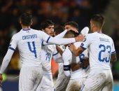 كل أهداف الثلاثاء.. إيطاليا تكتسح ليشتنشتاين بخماسية نظيفة