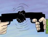 كاريكاتير الصحف الإماراتية.. النظام السورى و الأكراد يوحدون صفوفهم لمواجهة العدوان التركى