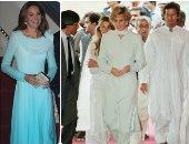 كيت ميدلتون على خطى ديانا فى إطلالاتها بباكستان.. صور