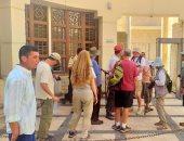 """وفود أمريكية وألمانية تزور متحف رشيد الوطنى """"صور"""""""