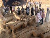 7 معلومات عن الخبيئة الأثرية فى العساسيف أبرزها 34 تابوتا