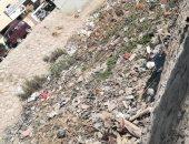 أهالى منطقة كوبرى الحزانية بشبين القناطر يشكون تراكم القمامة