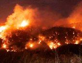 تراجع حدة الحرائق فى لبنان بعد تساقط الأمطار بشكل متفرق
