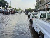 """""""مياه القاهرة"""" تستجيب لليوم السابع بإصلاح كسر بماسورة بكورنيش النيل بالساحل"""