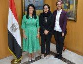 وزيرة السياحة تعقد اجتماعا مع المدير الإقليمى للشرق الأوسط بمنظمة السياحة العالمية