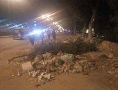 شكوى من تراكم القمامة بالحى العاشر فى مدينة نصر