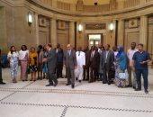 صور.. وفد من 20 قاضيا من الدول الأفريقية يزور محكمة النقض