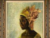 """لوحة لـ """"الموناليزا الأفريقية"""" تباع بأكثر من مليون دولار فى مزاد بلندن"""