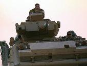 المرصد السورى: دخول رتل عسكرى تركى جديد للحدود السورية