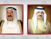 عاهل البحرين يطمئن على سلامة أمير الكويت ويهنئه بعودته لبلاده بعد رحلة علاج