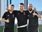 رونالدو يعود لتدريبات يوفنتوس بعد وصوله لـ700 هدف فى مسيرته.. صور