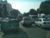 فيديو.. زحام مرورى بكورنيش النيل أمام القادم من المظلات وحتى ميدان التحرير