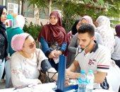 """صور.. جامعة القاهرة تطلق حملة """"صحتك يا شباب"""""""