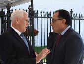 رئيس الوزراء يشارك فى غداء عمل استضافته غرفة التجارة العربية الأمريكية
