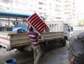 أمن القاهرة يشن حملات مكبرة لرفع الإشغالات من شوارع وميادين العاصمة